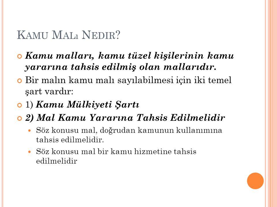 K AMU M ALı N EDIR .