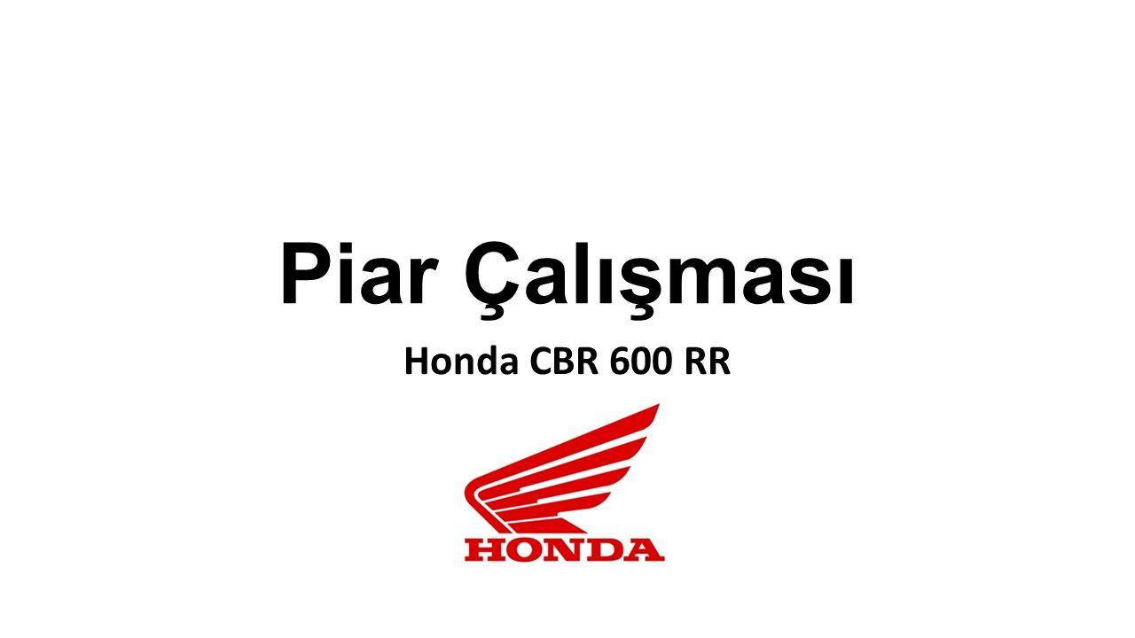 Piar Çalışması Honda CBR 600 RR