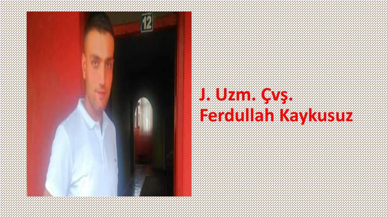 J. Astsubay İbrahim Tıraş