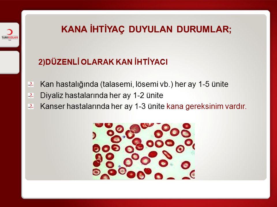 KAN BAĞIŞI HAKKINDA İğnenin damara girmesini takiben kan torbası dolmaya başlar, 4-8 dakikada istenilen miktardaki kan alınmış olur.