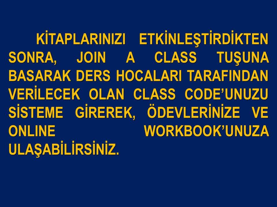 JOIN A CLASS