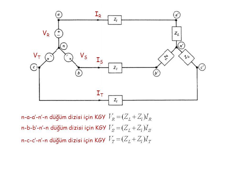 VR VR VT VT VS VS IR IR IS IS IT IT n-a-a'-n'-n düğüm dizisi için KGY n-b-b'-n'-n düğüm dizisi için KGY n-c-c'-n'-n düğüm dizisi için KGY