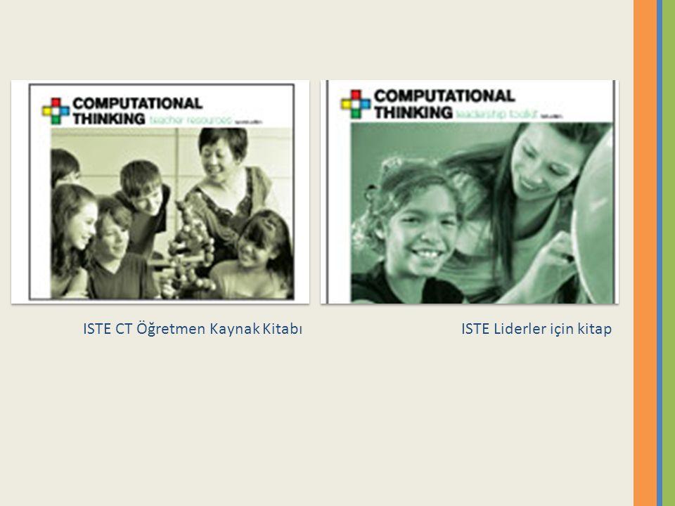 ISTE CT Öğretmen Kaynak KitabıISTE Liderler için kitap