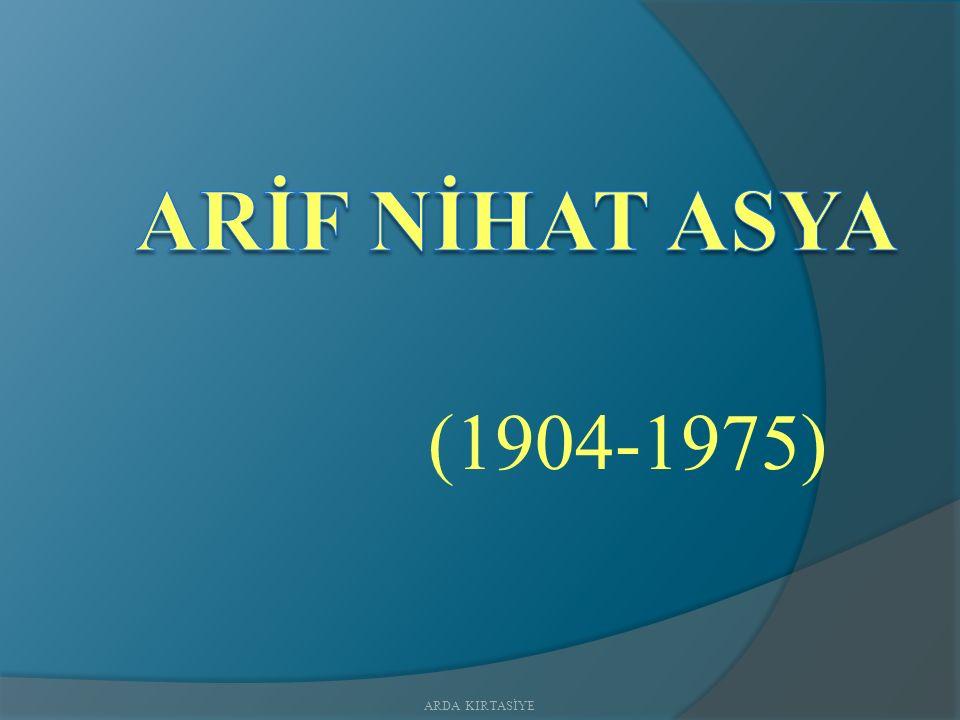 (1904-1975) ARDA KIRTASİYE
