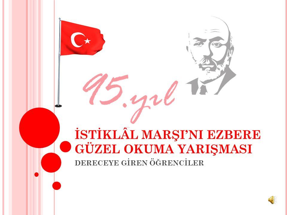 İLÇE 2.Sİ MMEHMET MOĞOLTAY URAL Yenilevent Anadolu Lisesi