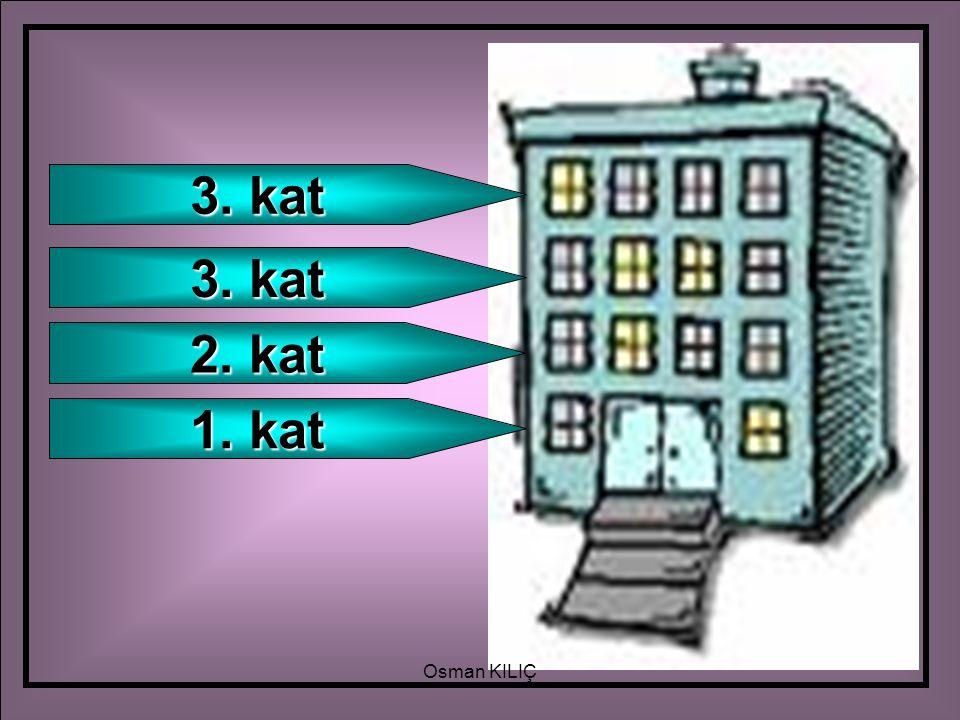 1. kat 2. kat 3. kat Osman KILIÇ