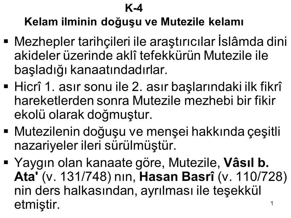 2 BÜYÜK GÜNAH MESELESİ ve VASIL b.
