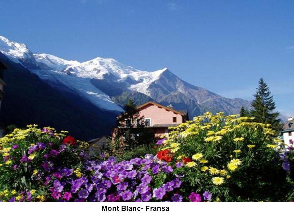 Mont Blanc- Fransa