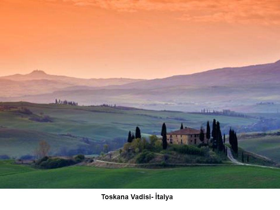 Toskana Vadisi- İtalya
