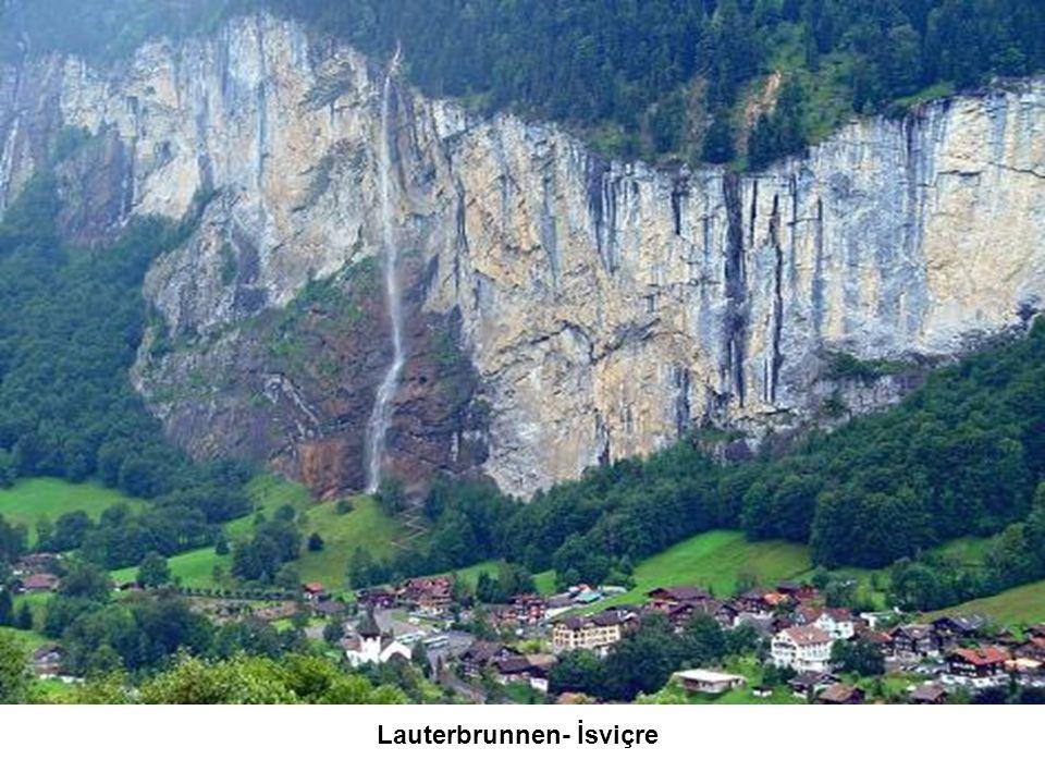 Lauterbrunnen- İsviçre