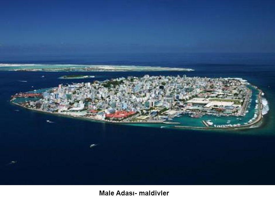 Male Adası- maldivler