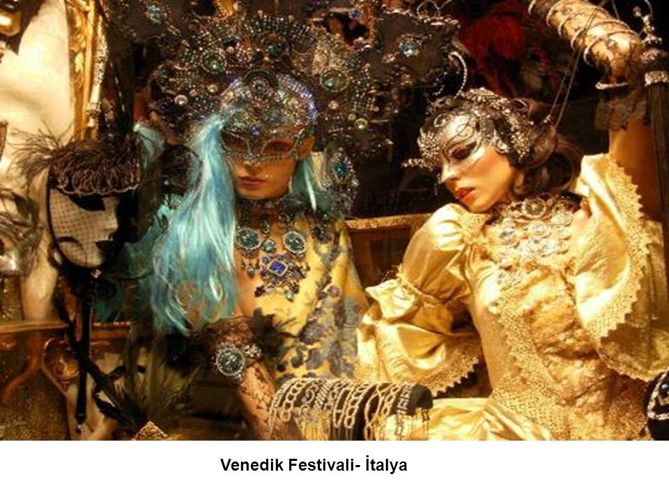 Venedik Festivali- İtalya