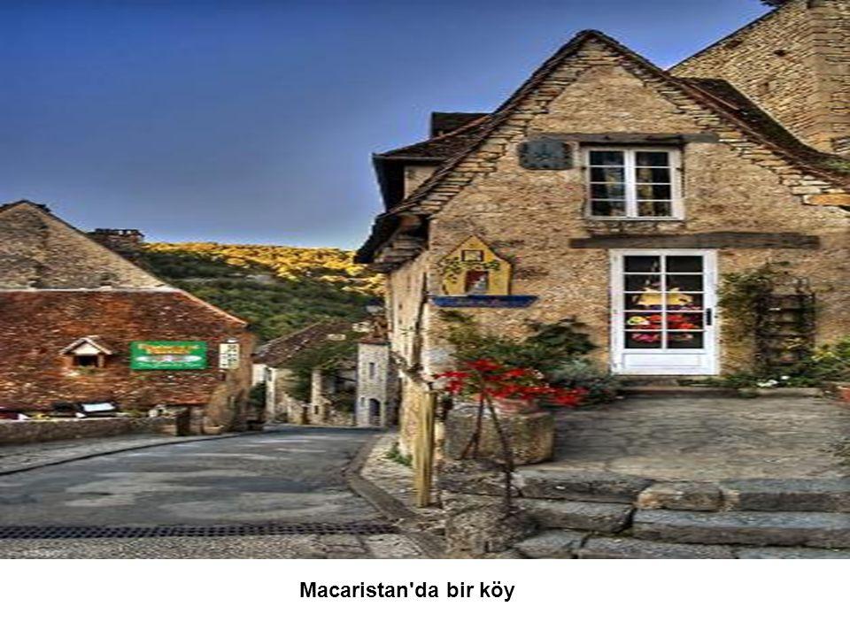 Macaristan da bir köy