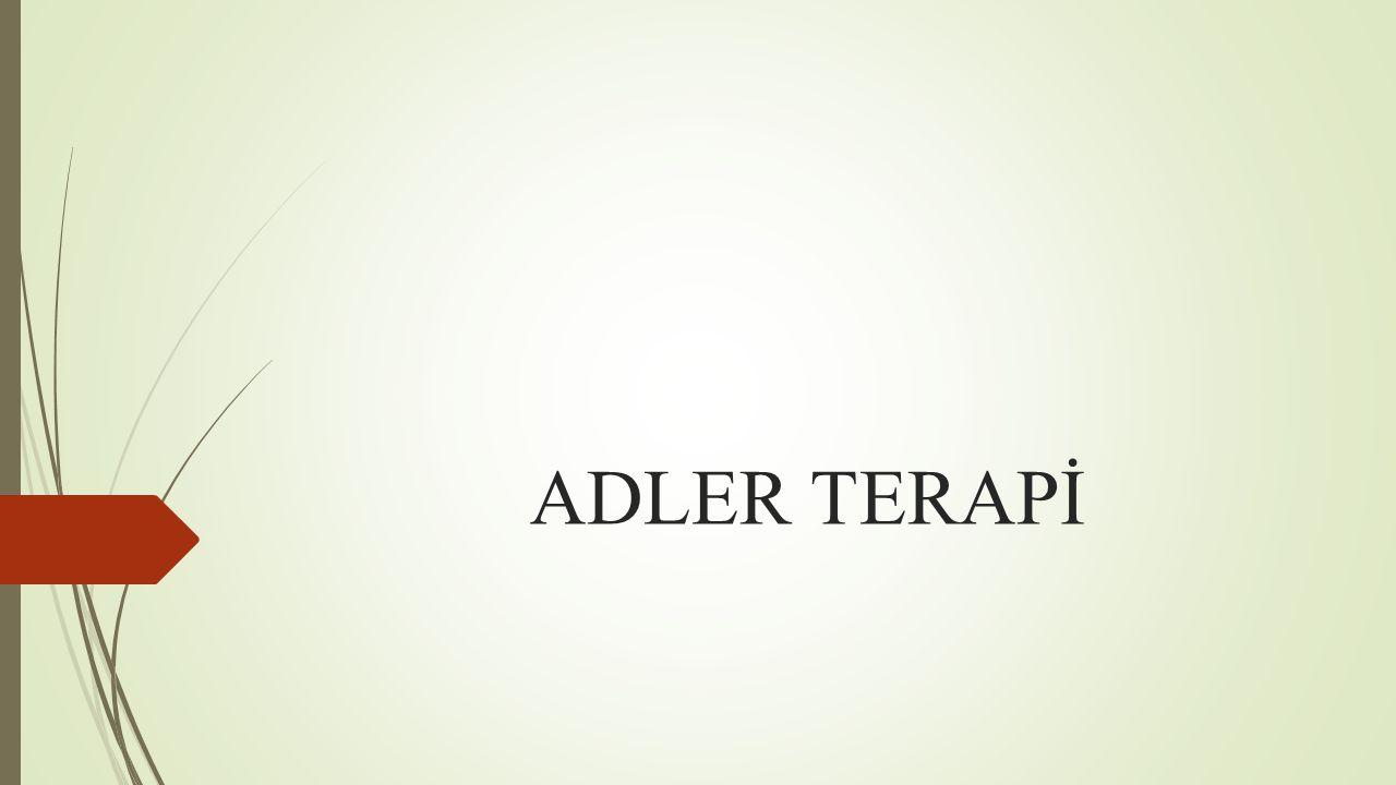 ADLER TERAPİ