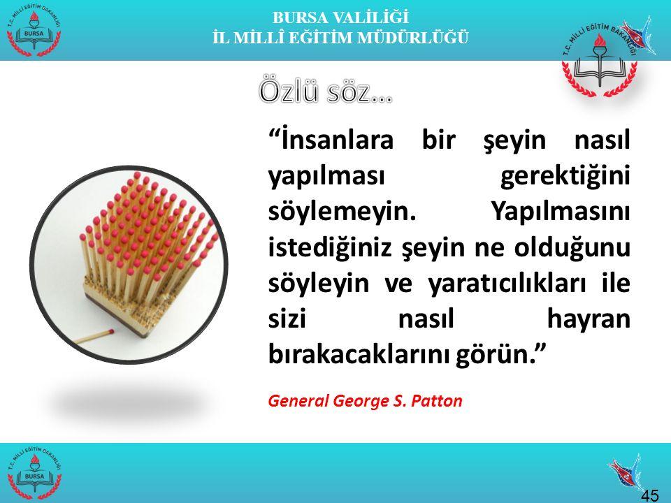 BURSA VALİLİĞİ İL MİLLÎ EĞİTİM MÜDÜRLÜĞÜ Geleceğimiz, umutlarımız olan çocuklarımızın, ilmin ışığında Atatürk'ün çizdiği çağdaş yolda yüreklice yürüyebilmesi için hepimizin sorumlulukları olduğunu asla aklımızdan çıkarmamalıyız.