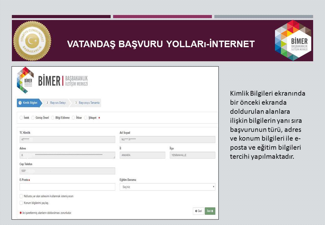 BAŞVURU DETAY- CEVAP VER Cevap esnasında vatandaşa gönderilebilecek matbu yazılar da cevap şablonları kısmında seçilebilmektedir.