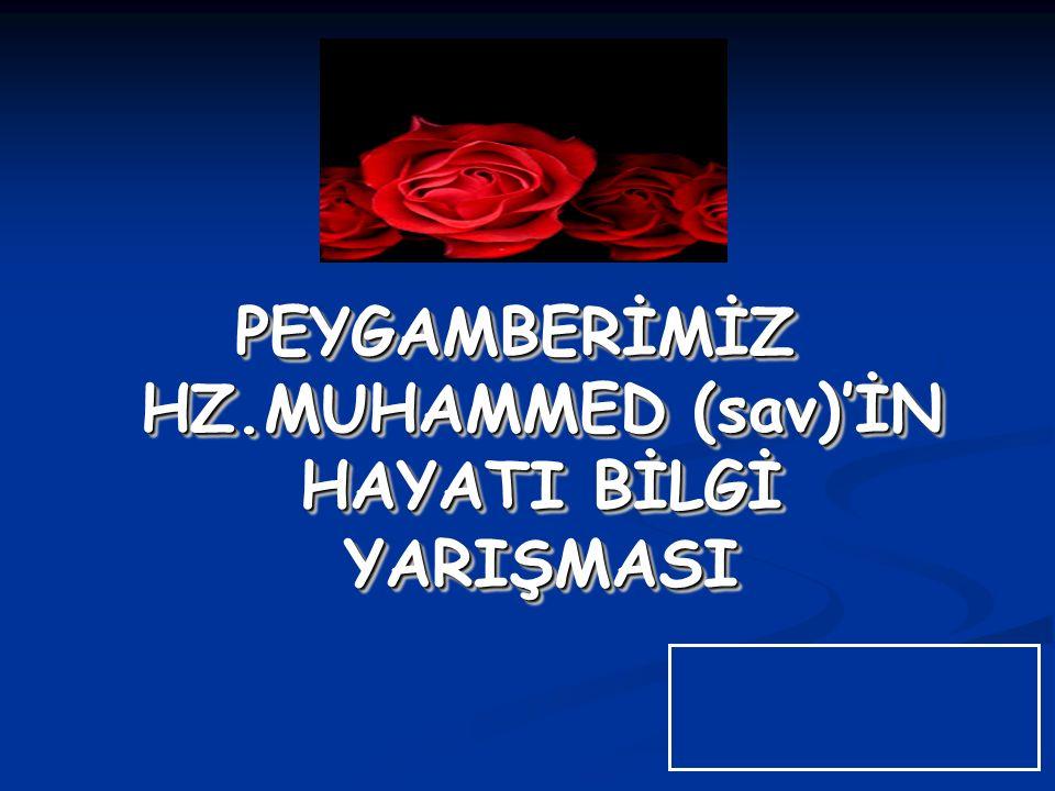 1.Hz.Muhammed'in babası ve dedesinin isimleri nedir.