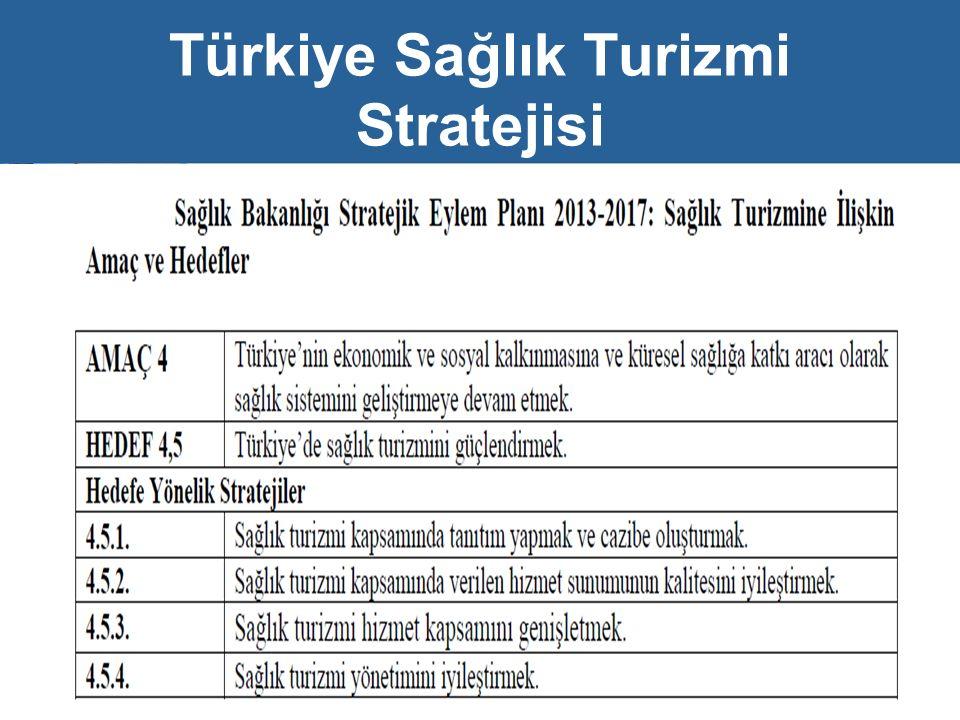 Türkiye Sağlık Turizmi Stratejisi 15