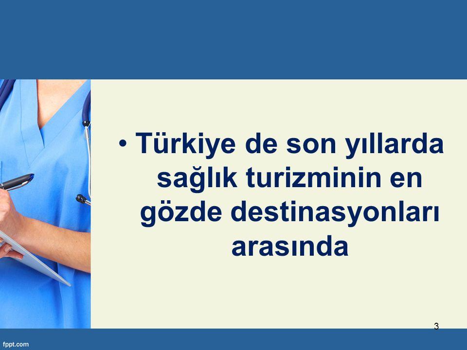 Türkiye'de tedavi olmak birçok Avrupa ülkesine göre yüzde 60'a varan oranlarda daha ucuz. 34