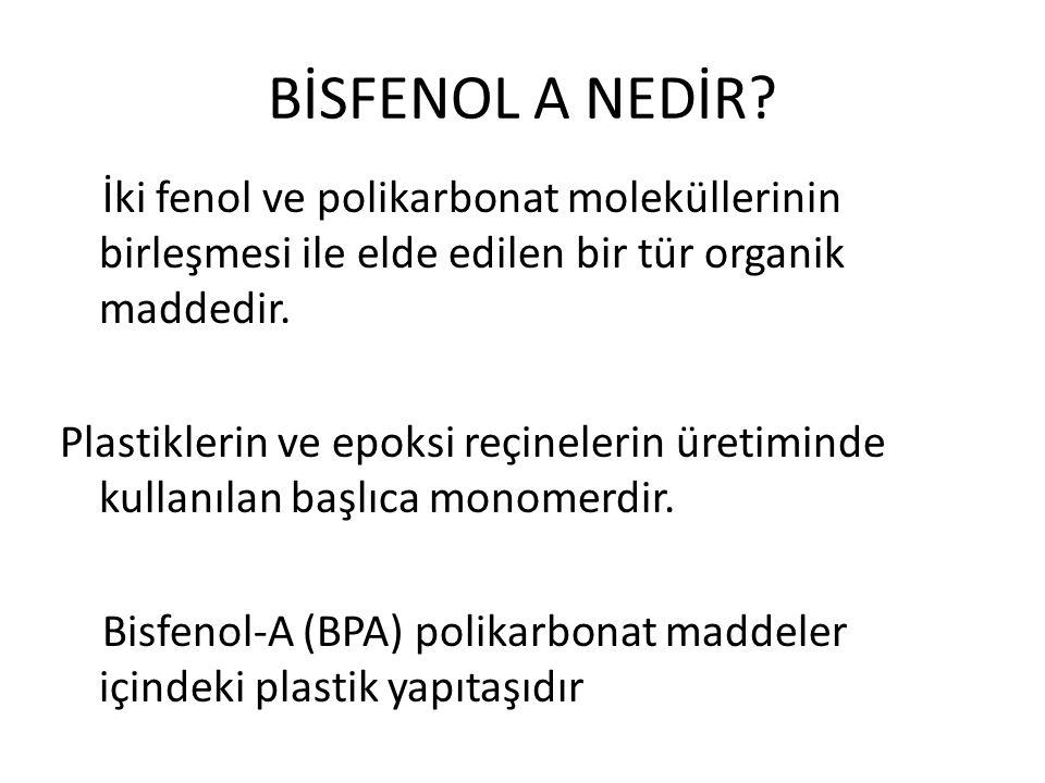 BİSFENOL A NEDİR.