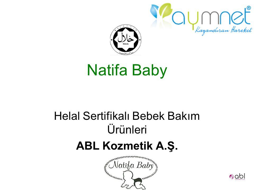 Natifa Baby Helal Sertifikalı Bebek Bakım Ürünleri ABL Kozmetik A.Ş.
