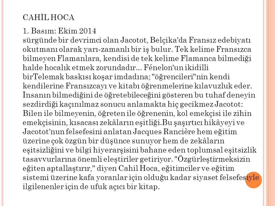 CAHİL HOCA 1.
