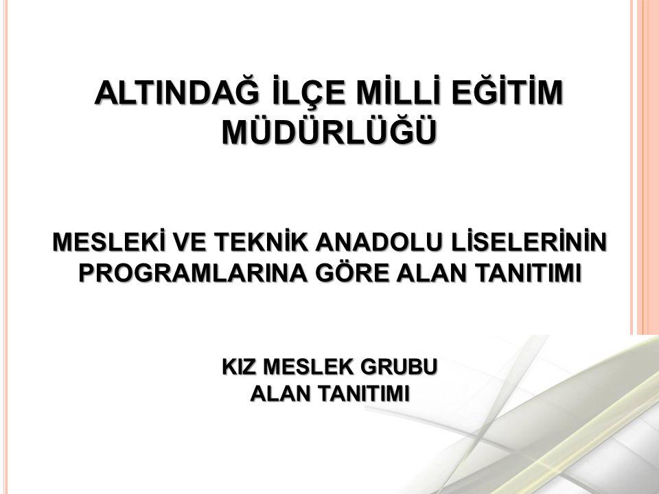 ATATÜRK MESLEKİ VE TEKNİK ANADOLU LİSESİ Web: http://atamml.meb.k12.tr Tel:(312) 311 45 29 Adres: Doğanbey Mh, Çankırı Cad.No: 39, Altındağ/Ankara