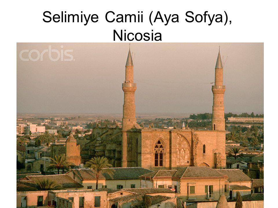 Selimiye Camii (Aya Sofya), Nicosia