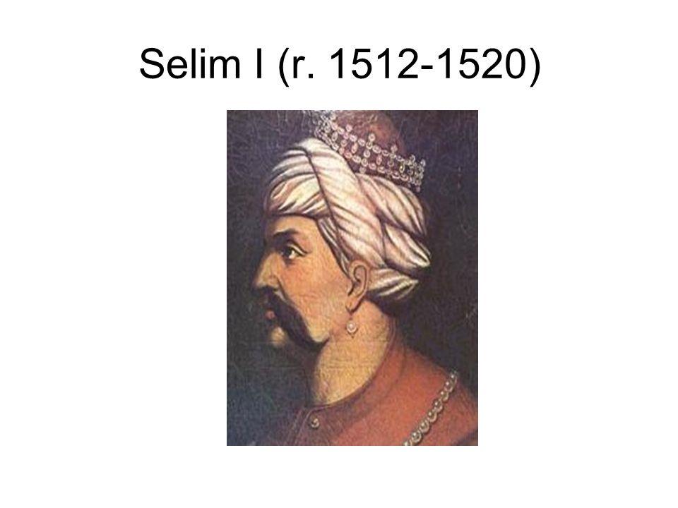 Selim I (r. 1512-1520)