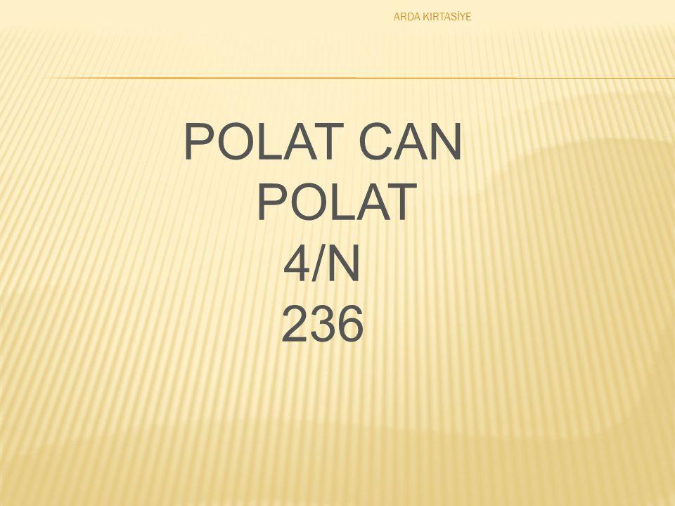 POLAT CAN POLAT 4/N 236 ARDA KIRTASİYE