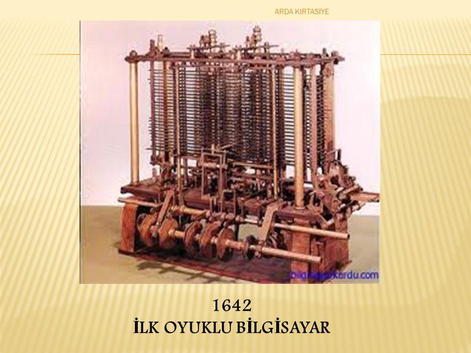 1642 İ LK OYUKLU B İ LG İ SAYAR ARDA KIRTASİYE