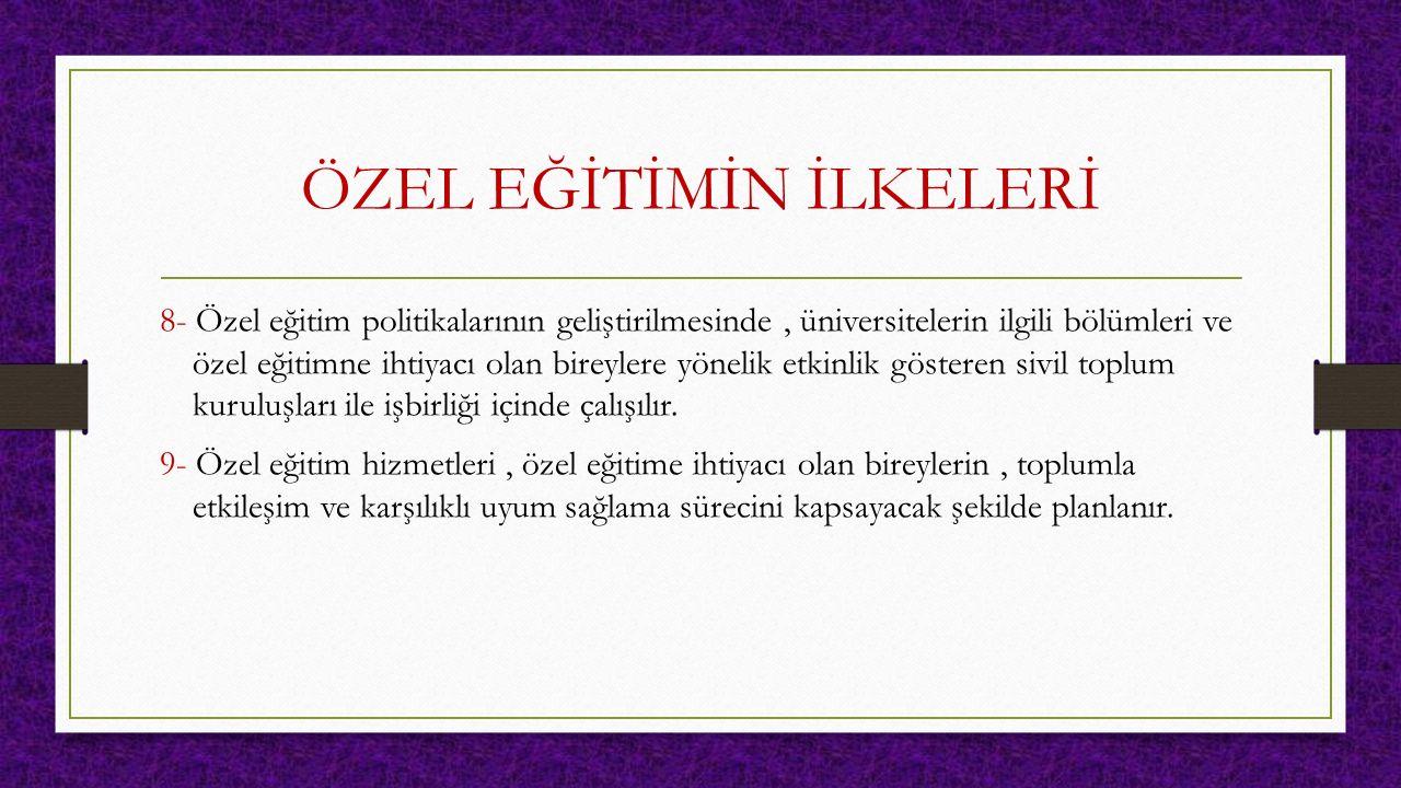 Yaygınlık Başbakanlık Özürlüler İdaresi Başkanlığının 2002'de Başbakanlık devlet istatistik Enstitüsü ile gerçekleştirdikleri Özürlüler araştırmasına göre Türkiye'de 8,5 milyon Güçlüğü Olan Birey bulunmaktadır.