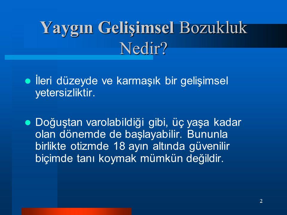 23 Akkök, Gökler, Öktem, Reid ve Sucuoğlu (1995) tarafından Türkçeye çevrilmiş ve geçerlik ve güvenirlik çalışmaları yapılmıştır.