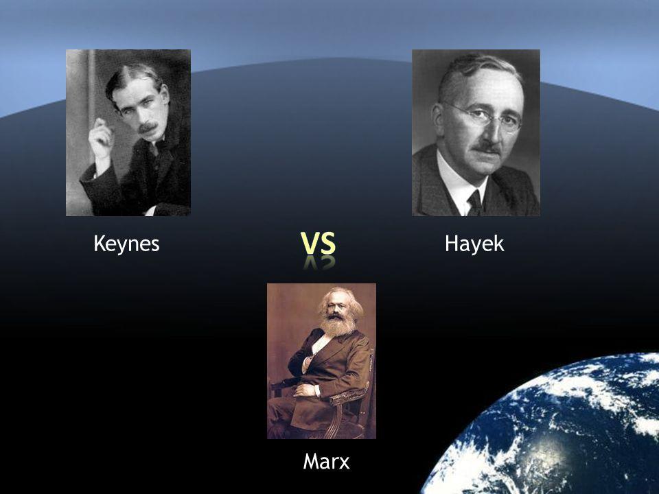 KeynesHayek Marx