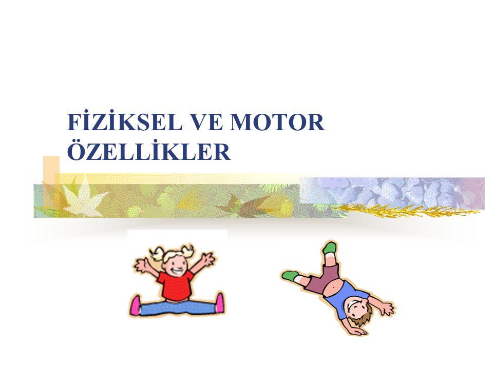 FİZİKSEL VE MOTOR ÖZELLİKLER