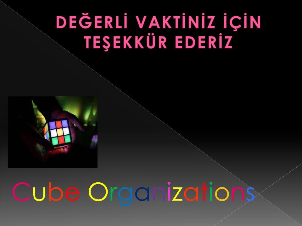 Cube OrganizationsCube Organizations