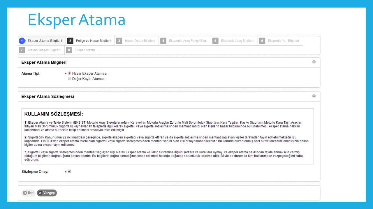 Eksper Atama