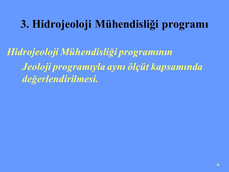 7 ÜRETİM VE BENZERİ ADLI MÜHENDİSLİK PROGRAMLARI PROGRAM ÖLÇÜTLERİ Bu program ölçütleri başlıklarında üretim ve benzeri nitelemeler bulunan programlar içindir.