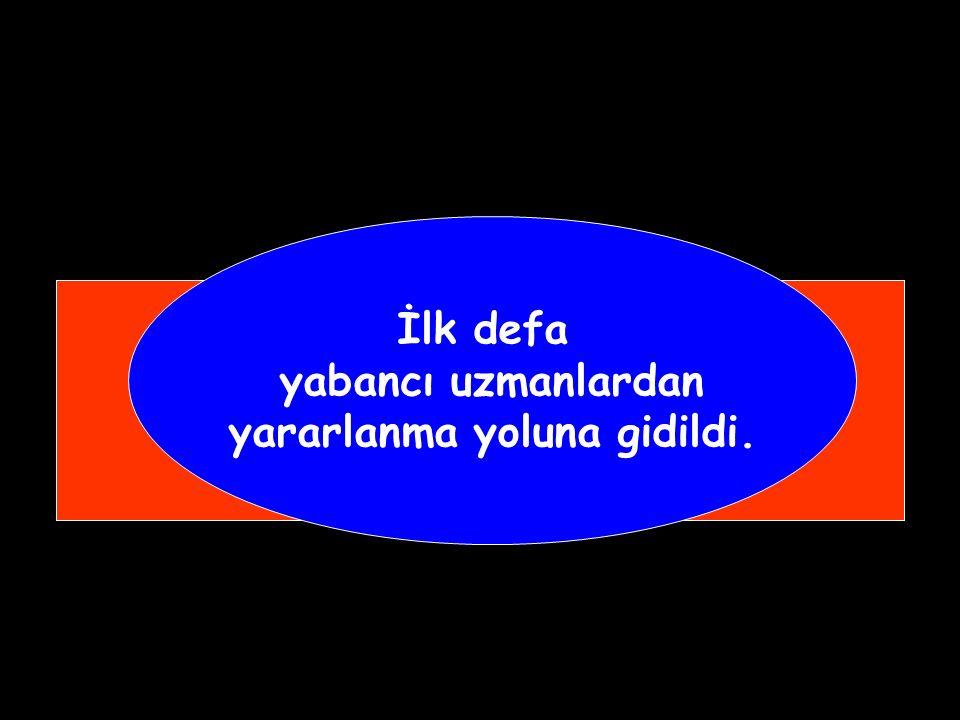 """I. Mahmut Dönemi Islahatları Humbaracı Ahmet Paşa öncülüğünde ilk kez subay yetiştirmek için """"Kara Mühendishanesi """" açıldı. (1730-1754 )"""