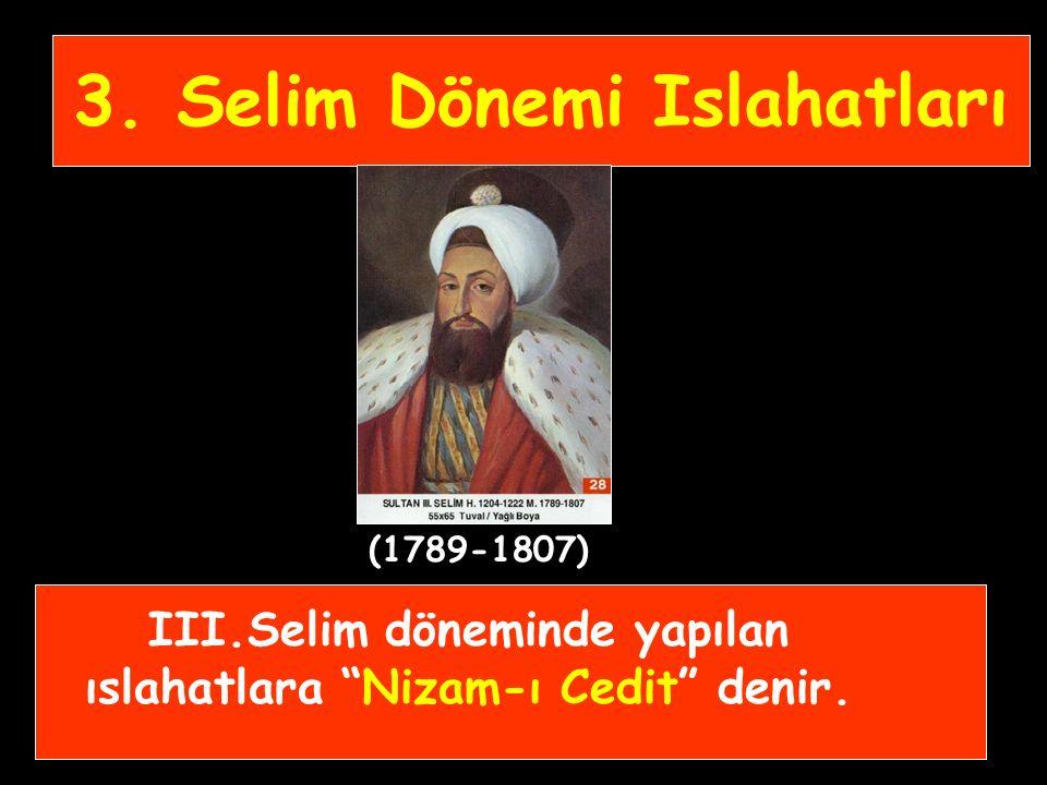"""- Sadrazam Halil Hamit Paşa tarafından orduya destek hizmeti sağlayacak eleman yetiştirmek için """"İstihkâm Okulu"""" açıldı. - Ulûfe alım satımı yasakland"""