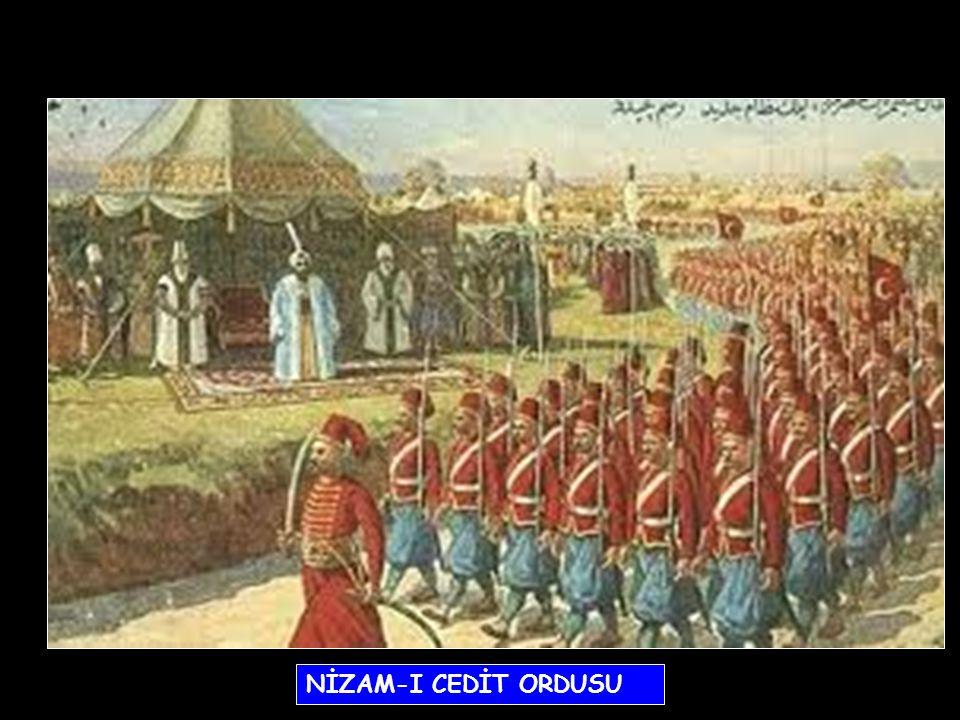 - Londra, Paris ve Viyana'ya sürekli elçiler gönderildi. - Batılılaşma anlayışıyla oluşturulan ilk ordu olan Nizam-ı Cedit kuruldu. - Bu ordunun masra