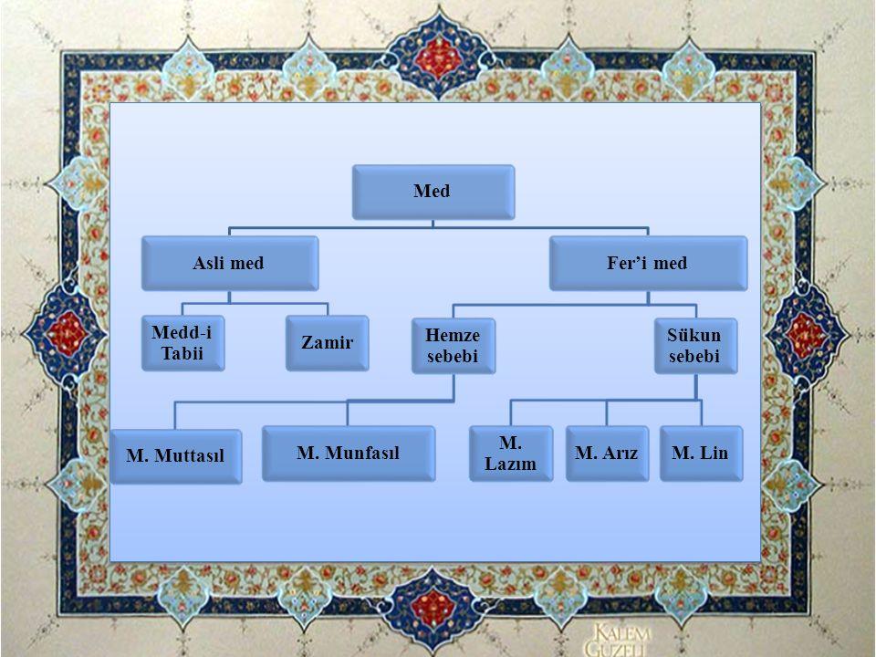 İDĞÂM-I MİSLEYN'İN KISIMLARI 1- İdğâm-ı Misleyn Mealğunne (Ğunneli İdğâm-ı Misleyn): Mim ve nun harfleriyle yapılan idğamdır.