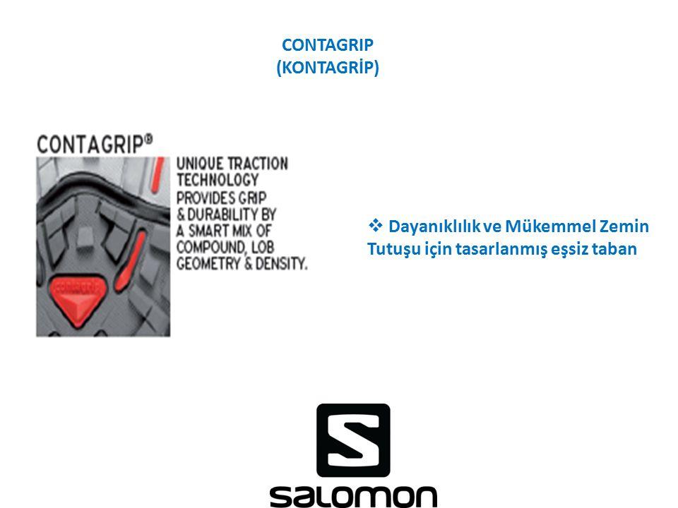 CONTAGRIP (KONTAGRİP)  Dayanıklılık ve Mükemmel Zemin Tutuşu için tasarlanmış eşsiz taban
