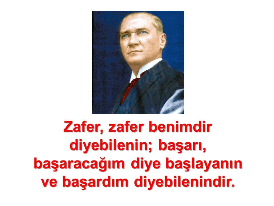 Ata en iyi binen yalnız Türk erkekleri değildir.