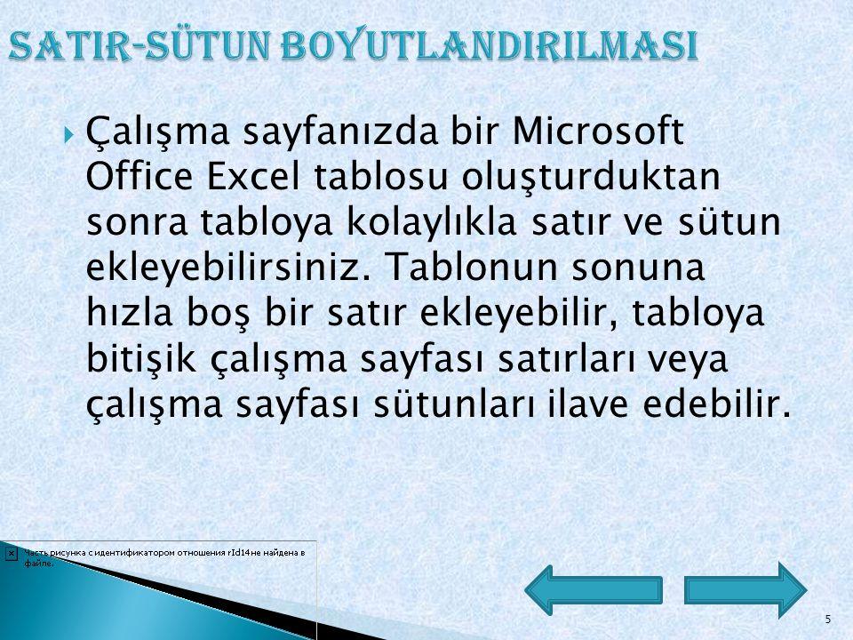 4 Microsoft Excel Başlat menüsünden Programlar Microsoft Office komutuna gelin ve sağ tarafta açılan alt menüden Microsoft Excel'i tıklayın.