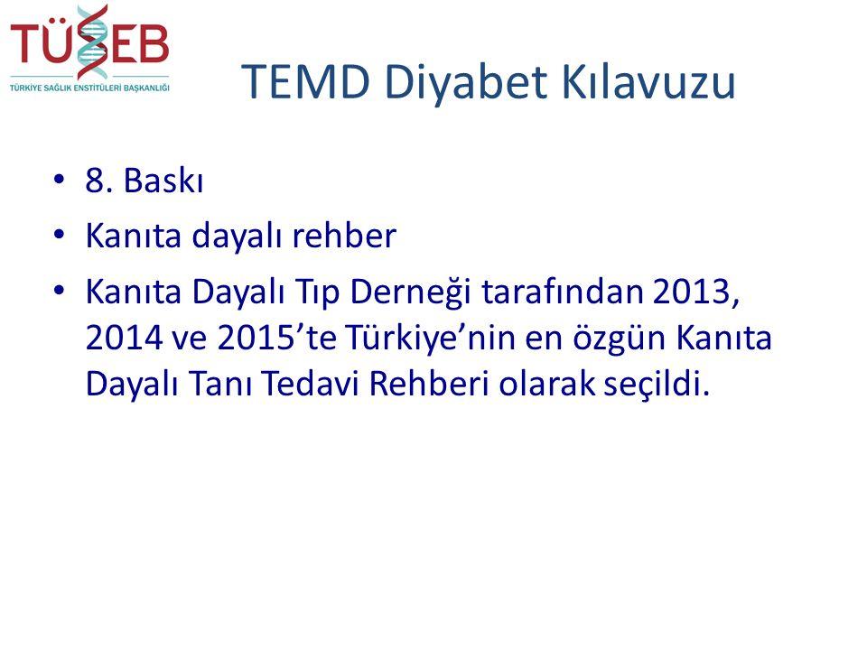 TEMD Diyabet Kılavuzu 8.