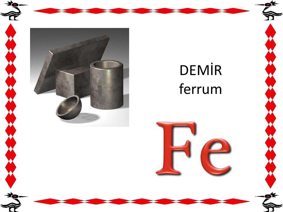 DEMİR ferrum