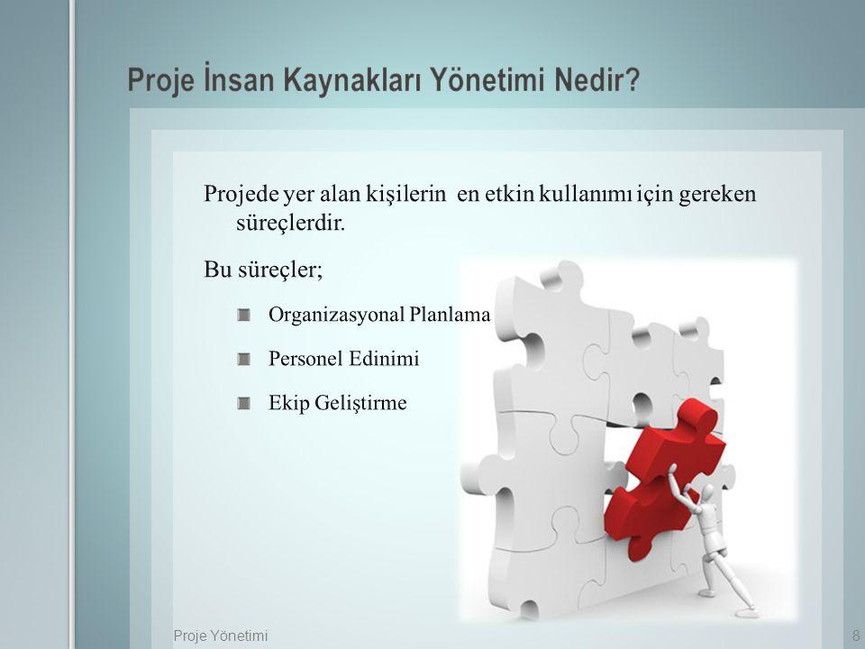 8Proje Yönetimi