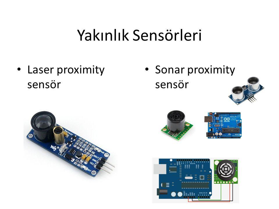 Yakınlık Sensörleri Laser proximity sensör Sonar proximity sensör