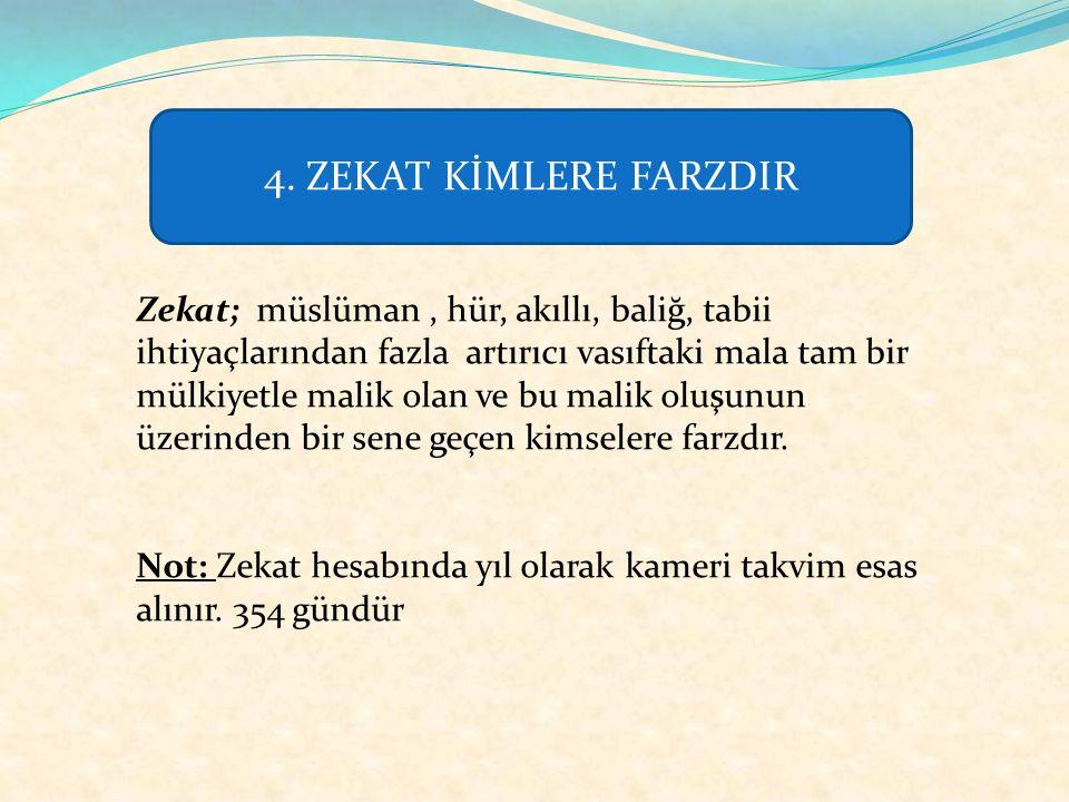 ) Ebû Derdâ (r.a) dan rivayete göre Peygamber Efendimiz (s.a.v) şöyle buyurmuştur: Zekat İslam ın (çok büyük ve sağlam) köprüsüdür.